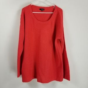 A.N.A longsleeve knit sweater size 1X red